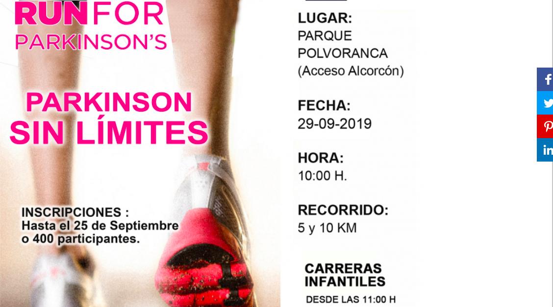 Reverberación detective por otra parte,  VII Carrera Solidaria Run for Parkinson - Club Trinat